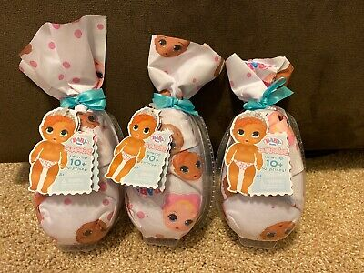 BABY BORN SURPRISE SERIES 2 - LOT of 3 Three Girl OR BOY DOLLS NEW SEALED