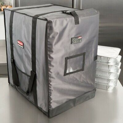 Rubbermaid FG9F1400CGRAY ProServe Insulated Food Pan Carrier End Load Orig $349