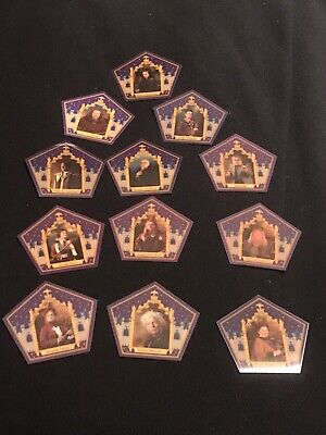 harry potter chocolate frog cards 13 Card Set Including New Merlin Card