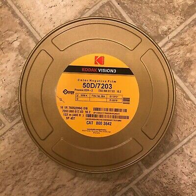 KODAK 16MM VISION3 COLOR NEG. MOVIE FILM 50D / 7203 400ft *NEW/STORED COLD. Cond