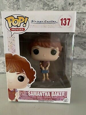 Funko POP  Movies #137 Sixteen Candles  Samantha Baker Figure BRAND NEW