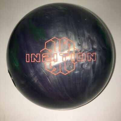 Green//Silver//Black 15lbs Track In2ition Bowling Ball
