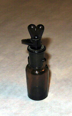 19c. Antique Drip Drop Medical Surgical Chloroform Anesthesia Glass Bottle