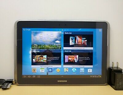 Samsung Galaxy Note 10.1 GT-N8013 16GB Wi-Fi Android Tablet - Gray