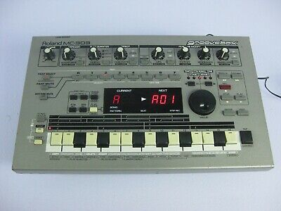 """Roland MC-303 Groovebox Drum Machine with """"all new16 keys tact switches"""""""