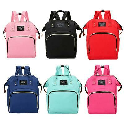 Mummy Baby Maternity Nappy Diaper Bag Large Capacity Travel Backpack Hand BEST