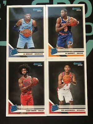 2019-20 Donruss Basketball Rated Rookie Cards 201-250!! Complete Your Set!!!!!