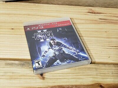 Star Wars: The Force Unleashed II (Sony PlayStation 3, 2010) complete