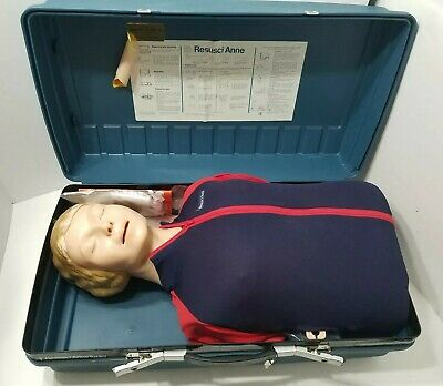 Laerdal Resusci Anne Torso AED Adult CPR Training EMT Medical Trainer Manikin