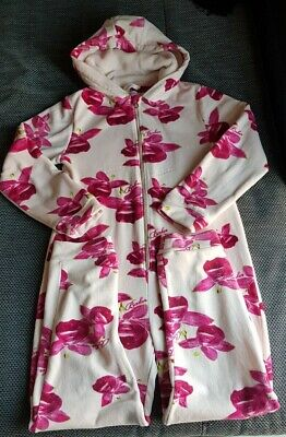 Girls Ted Baker All In One Hooded Floral Size 12-13 Years