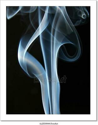 Smoke Art/Canvas Print. Poster, Wall Art, Home Decor