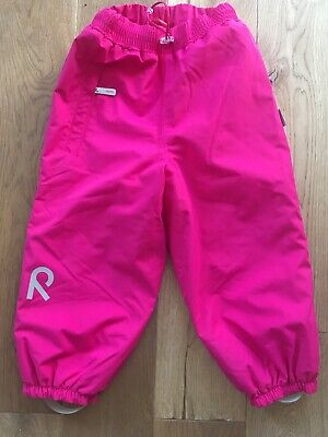NWOT Reima Winter Pants Size 98cm (3 Years) In Raspberry Pink