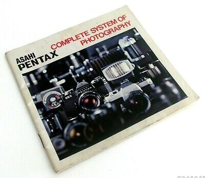 Asahi Pentax Complete System Of Photography Booklet