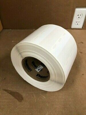 Panduit S100X150VATY thermal transfer label 1x1.5, self laminated