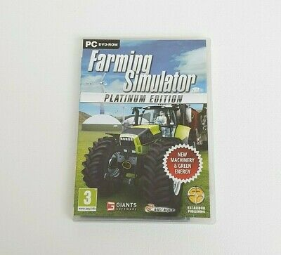 Farming Simulator 2011 Platinum Edition - PC-CD Rom Game - Free UK Delivery