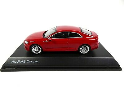 Audi A5 Coupe Tango Red 1:43 Spark - Dealer Pack Modellauto Miniatur 5432