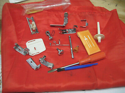 Brother VX-757 Sewing Machine Parts Needle Clamp Foot Guides Spool Tools