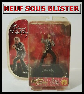 Johnny Hallyday - Statue Figurine Buste  Sous Blister - Rare