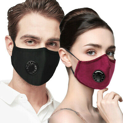 Washable Reusable N95 Anti Air Pollution Mouth Mask For Medical Biking Nail Tech