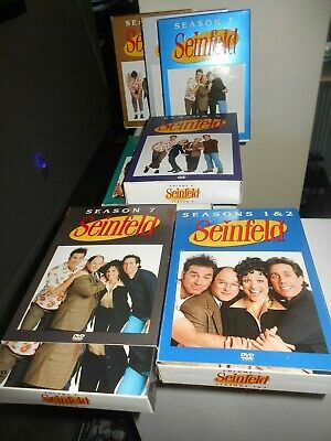 Seinfeld  The  Season 1, 2, 3, 4, 5,  7, 8, & 9 Pre-owned Cd's (VG) Ships Free
