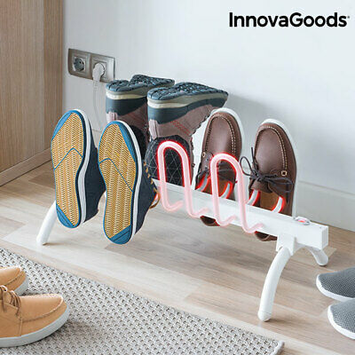 InnovaGoods Electric Shoe Drying Rack 80W White