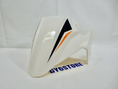 TAOTAO 50cc THUNDER BLADE FRONT WHEEL FENDER (WHITE, BLACK, ORANGE) *OEM*
