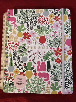 New Kate Spade New York Garden Posy 17-Month Mega Planner Aug 2019-Dec 2020