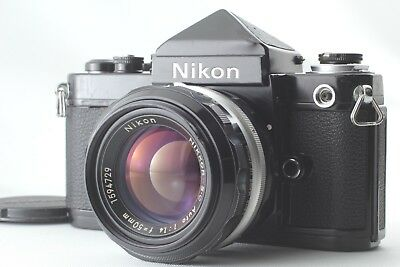 【EXC+++++】 Nikon F2 Eyelevel DE-1 w/ Nikkor S.C Auto 50mm 1.4 From JAPAN #1054