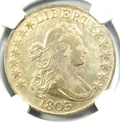 1803 Draped Bust Half Dollar 50C - NGC XF Details (EF) -  $2,100 Value in XF40