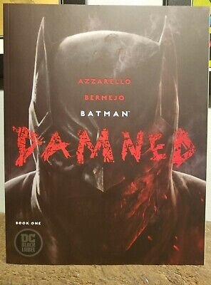 Batman Damned 1 (1st print, never read, uncensored) Free Shipping!