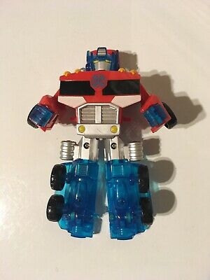 Transformers Rescue Bots 2012 Optimus Prime Energize New with Damaged Package