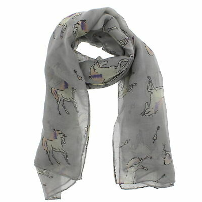 Zac/'s Alter Ego Long Lightweight Scarf with Graduated Black Pirate Skulls