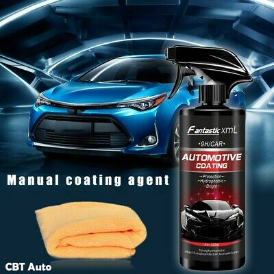 500ML Shine Armor Car Polish Ceramic Spray Sealant Top Coat Quick Nano Coating