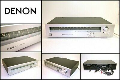 DENON ST-30 FM AM Stereo Tuner Made in Japan Good Working Order