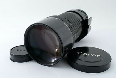 【EXC+++++】Canon New FD NFD 300mm f/4 MF Telephoto Lens w/ Cap From Japan #191153