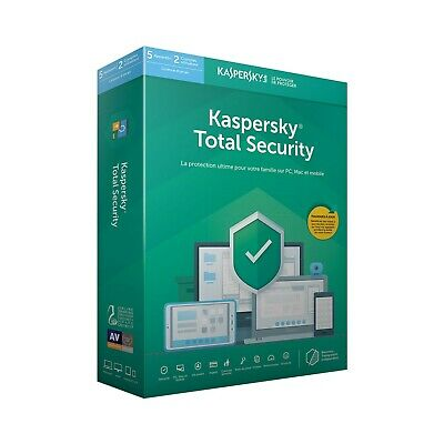 KASPERSKY TOTAL SECURITY 2020 Devices 1 / 2 / 3 / 4 / 5 Key GLOBAL Email Delive