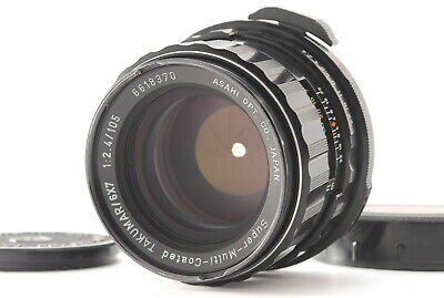 [EXC+++++]Pentax SMC Takumar 6x7 105mm F2.4 Lens for 6x7 67 67II from Japan