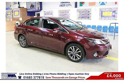 2014 - 14 - Toyota Avensis Icon 2.0D-4D 127Bhp 4 Door Saloon (Guide Price)
