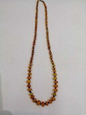 A beautiful necklace made of old Carnelian beads