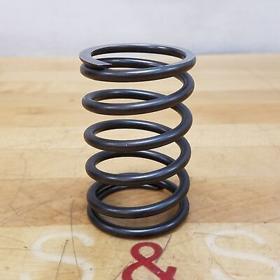 """3"""" Length Spring-Tempered Steel Compression Spring, 1.938"""" OD, 1.554"""" ID - NEW"""