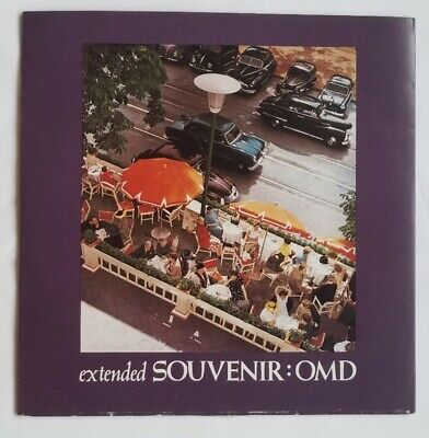 """Orchestral Manoeuvres In The Dark, OMD, Souvenir (Extended), 10"""" Single, EX Cond"""