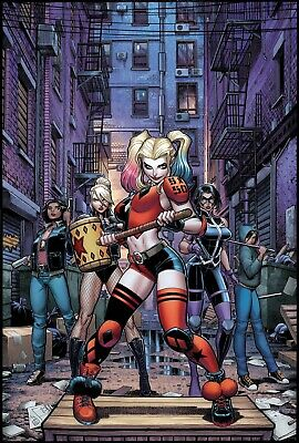 Harley Quinn & The Birds Of Prey #2 (Of 4) Arthur Adams Var Dc   4/8