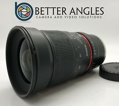 SONY E Rokinon 35mm F1.4 AS UMC Lens-Guaranteed+Free Shipping!
