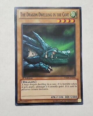 3X The Dragon Dwelling In The Cave LOD-037 3 Playset Yugioh Yu Gi Oh