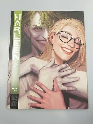 HARLEEN 2 1st PRINT NM HARLEY QUINN JOKER BIRDS OF PREY DC BLACK LABEL