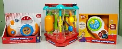 Play Right Baby toys. Camera, Music player and rattle learning toy.