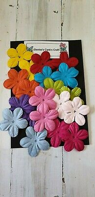 Paper Flowers -- Assorted Colours
