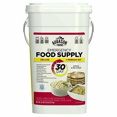 Emergency Food Supply Pail Storage Survival Ration Buckets, Many Options