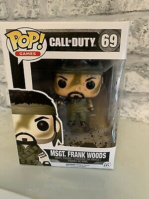 Frank Woods POP Figur 9 cm Funko Call of Duty MSgt