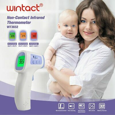Infrared Forehead Body Thermometer Baby Adult Digital Thermometer Gun